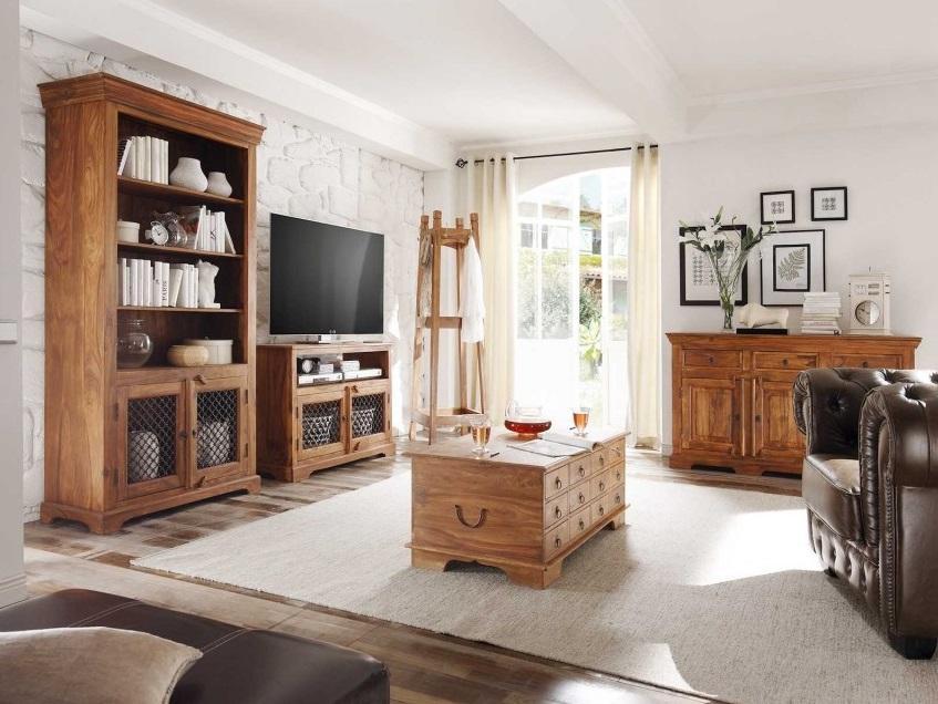 Luxusné kolekcie rustikálneho nábytku z masívu.