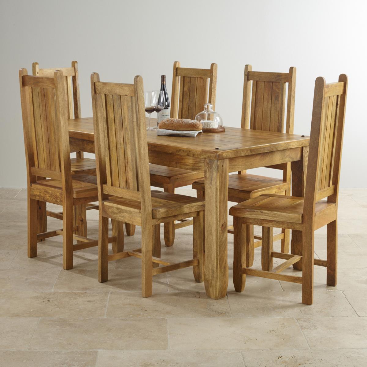 a3eafc3c80d4 Jedálenský set + 4 stoličky z masívu