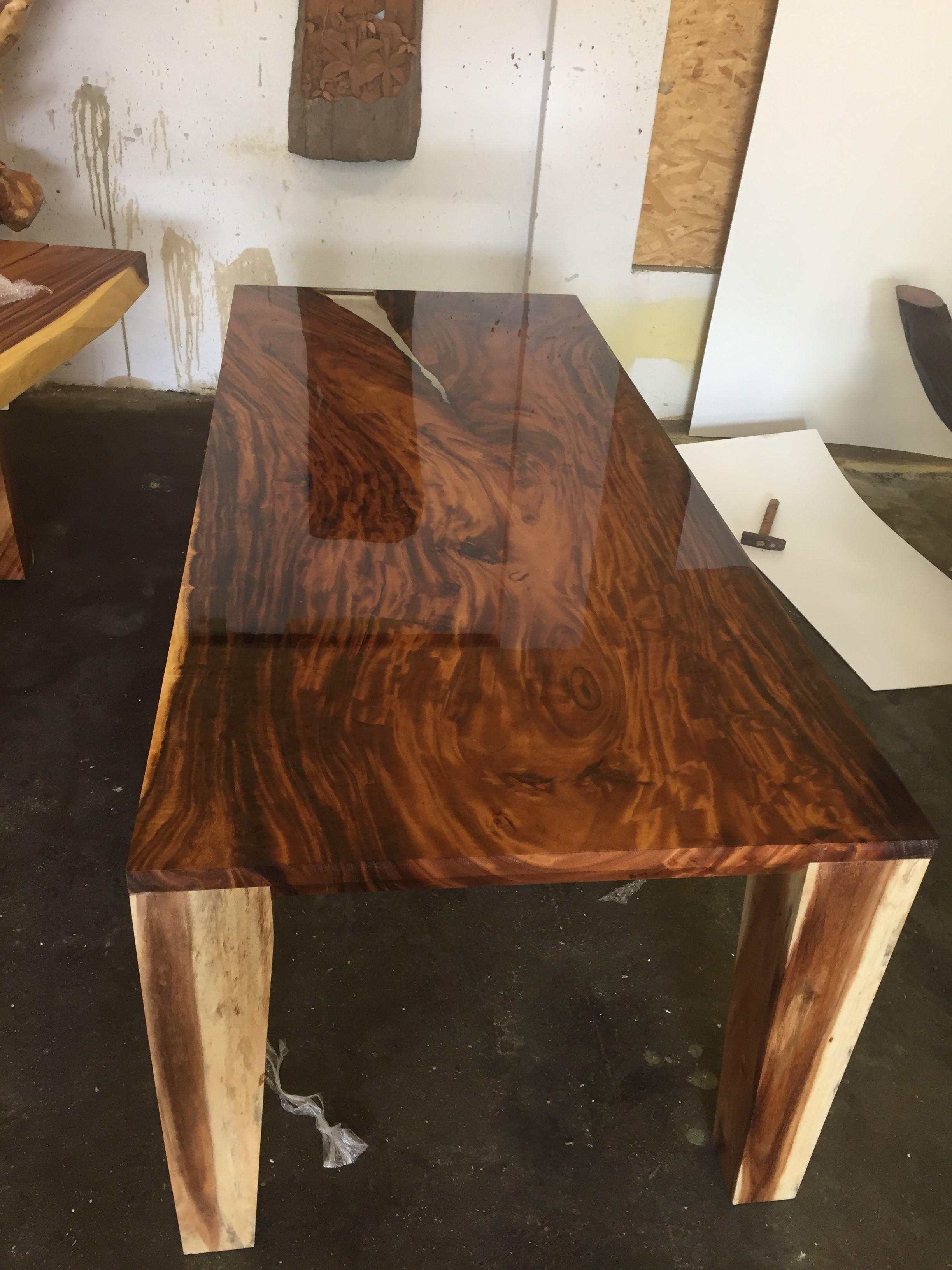 e3af9215239d2 Masívny jedálenský stôl z Thajska dreviny Acacia | Furniture-nabytok.sk