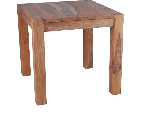 860d26abcc56 Masívny jedálenský stôl 80x80x75 cm