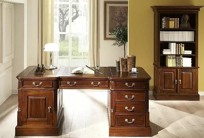 Zariaďte si luxusnú kanceláriu s nábytkom z masívneho dreva