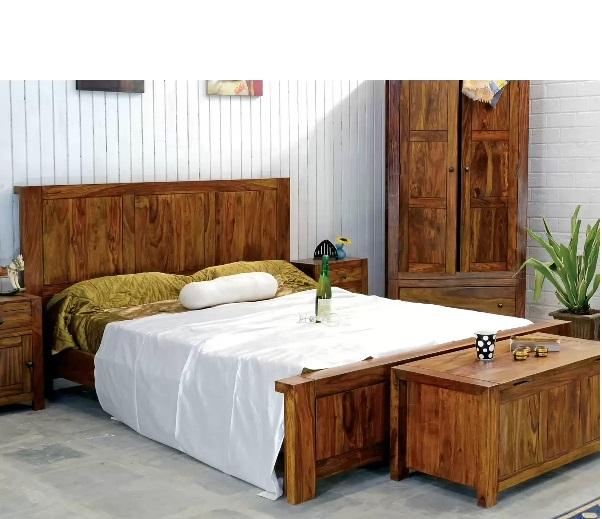Luxusné postele z masívu so zaujímavou zľavou